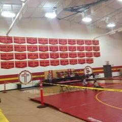Photo taken at Seton Catholic Preparatory High School by Thomas D. on 11/30/2013