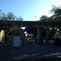 Photo taken at FLL Airport Economy Parking by Cesar L. on 12/19/2012
