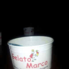 Photo taken at Gelato Marco by Carlos M. on 8/28/2013