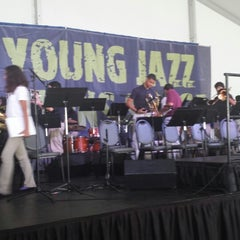 Photo taken at Chicago Jazz Festival by Sarah on 8/31/2013