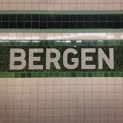 Photo taken at MTA Subway - Bergen St (F/G) by Mikey A. on 10/8/2013