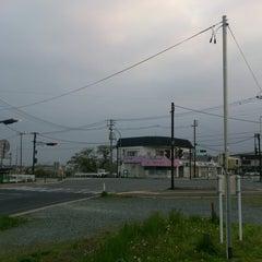 Photo taken at 花巻空港駅口交差点 by Sato N. on 5/15/2013