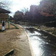 Photo taken at 大横川親水公園 by Irma, Miho ゐ. on 12/31/2015