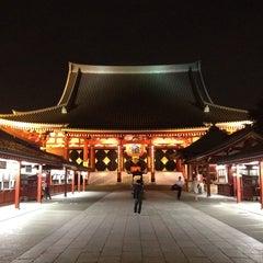 Photo taken at 浅草寺 (Sensō-ji Temple) by Irma, Miho ゐ. on 7/31/2013