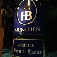 Photo taken at Gasthaus Bavarian Hunter by Tim N. on 2/9/2013