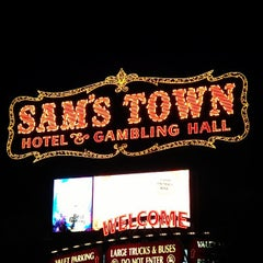 Photo taken at Sam's Town Hotel & Gambling Hall by Jake L. on 10/8/2012