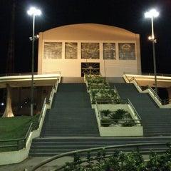Photo taken at Santuário Basílica do Divino Pai Eterno by Elden D. on 11/11/2012