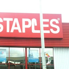 Photo taken at Staples by Claudia F. on 5/29/2014