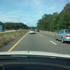 Photo taken at Interstate 95 Exit 8 by Ute P. on 10/14/2012