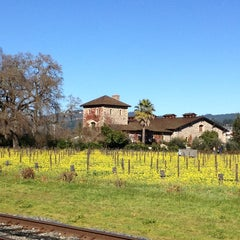 Photo taken at V. Sattui Winery by Susan L. on 1/26/2013