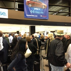 Photo taken at TSA Checkpoint C by Laurie W. on 10/24/2012