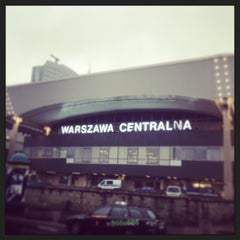 Photo taken at Warszawa Centralna by Angelika Ż. on 5/24/2013