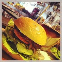 Photo taken at Ham Holy Burger by David C. on 6/5/2013
