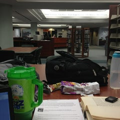 Photo taken at Chattanooga State Library by Paisley R. on 2/20/2013