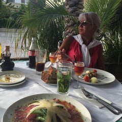 Photo taken at Bellini (בליני) by Anna T. on 6/7/2015