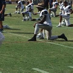 Photo taken at Dallas Cowboys Training Camp by Joshua M. on 8/6/2014