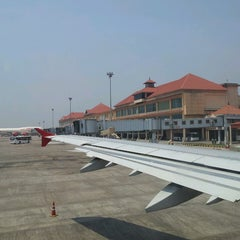 Photo taken at Cochin International Airport (COK) by Ali S. on 3/3/2013