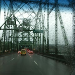 Photo taken at Oregon/Washington Border by Alison B. on 12/9/2012