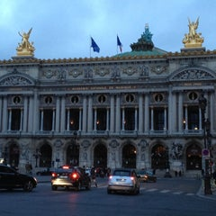 Photo taken at Opéra Garnier by Yin-Ho C. on 5/11/2013