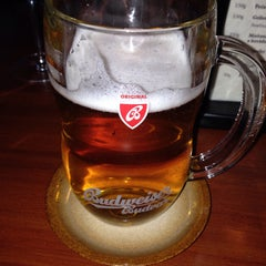 Photo taken at Budvar pub by Evgeny S. on 1/2/2015