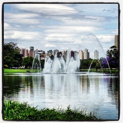Photo taken at Parque Ibirapuera by Marcela Q. on 10/13/2013