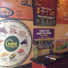 Photo taken at Moe's Southwest Grill by Lawrence W. on 10/4/2013