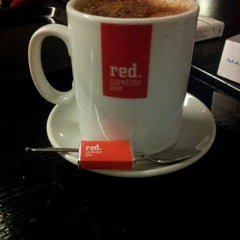 Photo taken at Red. Espresso Bar by Nikolas G. on 11/20/2012