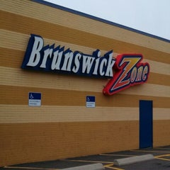 Photo taken at Brunswick Zone - Lowell by Jason F. on 10/7/2012