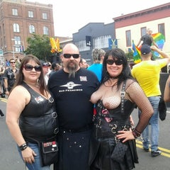 Photo taken at Folsom Street Fair 2012 by James G. on 9/25/2012