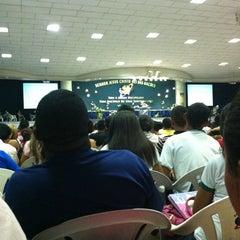 Photo taken at Igreja da Paz by Paulo V. on 4/17/2012
