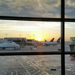 Photo taken at Gate 57 by Sean B. on 9/30/2015