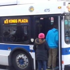 Photo taken at MTA Bus - B9 by Sean B. on 3/26/2014