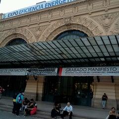 Photo taken at Centro Cultural Estación Mapocho by Paulina C. on 3/22/2013