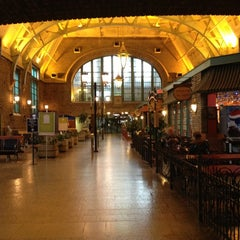 Photo taken at Gare du Palais by Yan D. on 10/21/2012