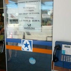 Photo taken at Supermercado Angeloni by Manoel S. on 12/24/2012