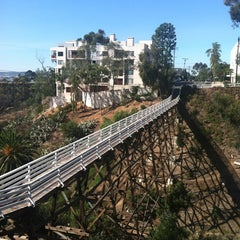 Photo taken at Quince Street Bridge by Tracy B. on 10/28/2012
