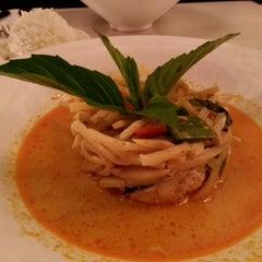 Photo taken at Osha Thai Kitchen by Grace C. on 3/4/2013