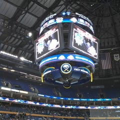 Photo taken at First Niagara Center by Gregory D. on 10/23/2012
