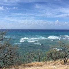 Photo taken at Diamond Head Scenic Point by yas m. on 8/14/2015