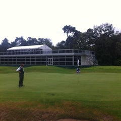 Photo taken at Hilversumsche Golfclub by Hans L. on 9/14/2012