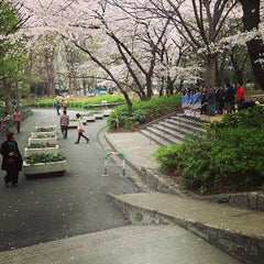Photo taken at 新宿中央公園 (Shinjuku Central Park) by hiro on 3/24/2013