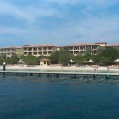 Photo taken at Santa Barbara Beach & Golf Resort Curaçao by Dr. T on 3/23/2013