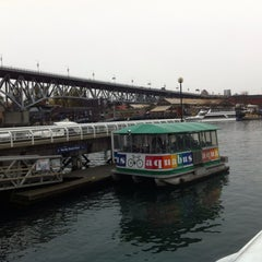 Photo taken at Aquabus Hornby St. Dock by Tom B. on 11/9/2013