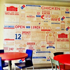 Photo taken at Domino's Pizza by vivi s. on 10/4/2013