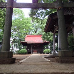 Photo taken at 長尾神社 by Manabu I. on 6/23/2013