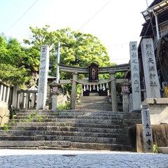 Photo taken at 御袖天満宮 by yu k. on 5/9/2015