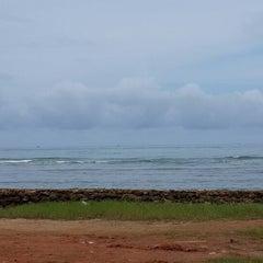 Photo taken at หาดใบลาน (Bailan Beach) by JiNa K. on 8/30/2013
