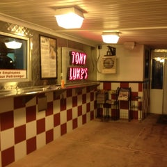 Photo taken at Tony Luke's by Lauren B. on 11/3/2012
