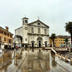 Photo taken at Piazza Grande by Diego D. on 3/31/2013