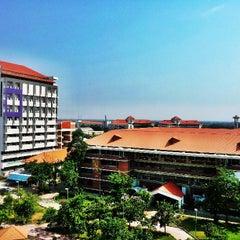 Photo taken at มหาวิทยาลัยมหาสารคาม (Mahasarakham University) by Josh T. on 4/21/2013